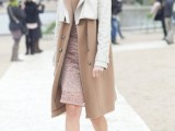 16 Fall Outfits With Two-Tone Coats 2