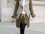 16 Fall Outfits With Two-Tone Coats 3