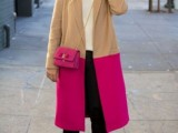 16 Fall Outfits With Two-Tone Coats 5