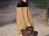 16 Fall Outfits With Two-Tone Coats 7