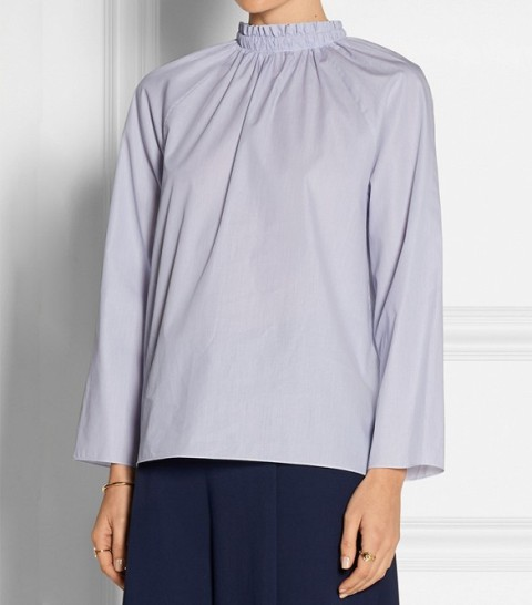 Picture Of High Neck Blouse Ideas To Look Trendy 15