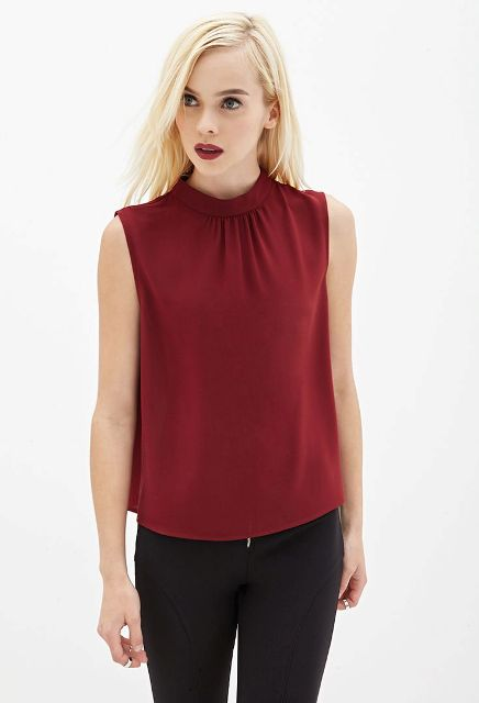 Picture Of High Neck Blouse Ideas To Look Trendy 8