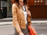 16 Office Bright Women Outfits With Animal Prints16