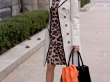 16 Office Bright Women Outfits With Animal Prints7