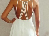 16 Spaghetti Strap Backless Dresses For This Summer