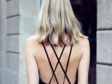 16 Spaghetti Strap Backless Dresses For This Summer11