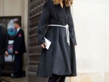 16 Super Stylish Belted Coats For Fall And Winter10