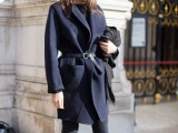 16 Super Stylish Belted Coats For Fall And Winter8