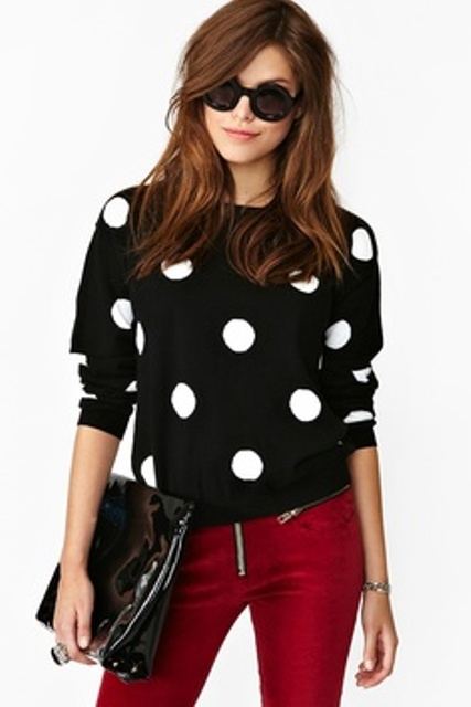 16 Ways To Wear Polka Dot Clothes At Office - Styleoholic