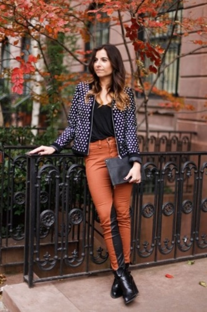 Picture Of Ways To Wear Polka Dot Clothing At Office 14