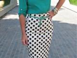 16 Ways To Wear Polka Dot Clothing At Office2