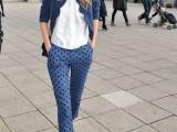 16 Ways To Wear Polka Dot Clothing At Office3
