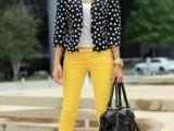 16 Ways To Wear Polka Dot Clothing At Office6