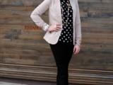 16 Ways To Wear Polka Dot Clothing At Office8