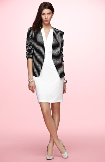 Picture Of Work Outfits With Stripes For Ladies 11