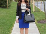 16 Work Outfits With Stripes For Ladies3