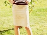 16 Work Outfits With Stripes For Ladies5