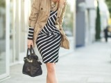 16 Work Outfits With Stripes For Ladies8