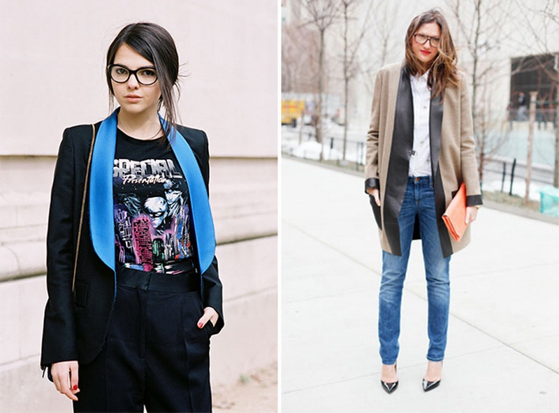 Picture Of stunning ways to wear glasses now  3