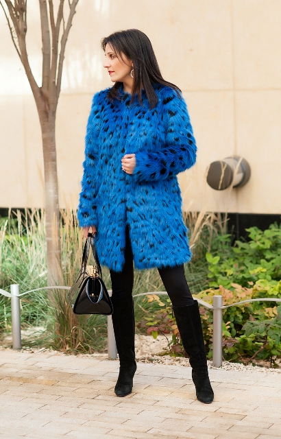 Picture Of Colored Fur Coats For Fall And Winter 14
