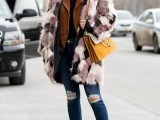 17 Colored Fur Coats For Fall And Winter16
