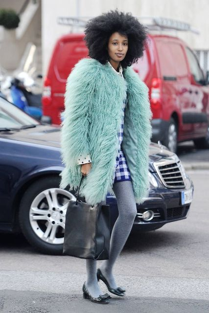 Picture Of Colored Fur Coats For Fall And Winter 6