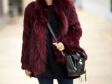 17 Colored Fur Coats For Fall And Winter7