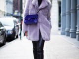 17 Colored Fur Coats For Fall And Winter8