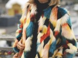 17 Colored Fur Coats For Fall And Winter9