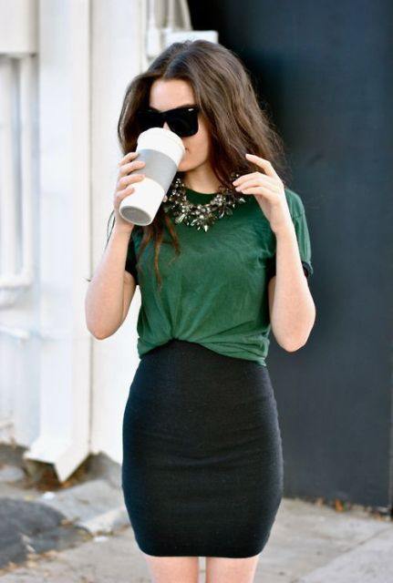 17 Gorgeous Office Looks In Emerald Shades