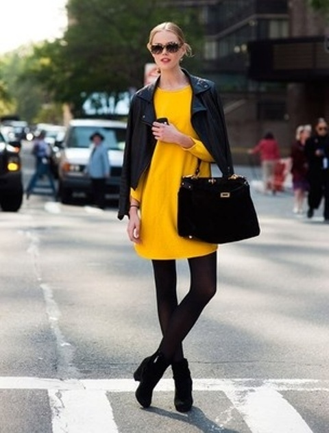 Picture Of Perfect Office Looks In Lemon Shades 10