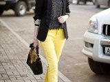 17 Perfect Office Looks In Lemon Shades11
