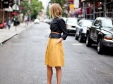 17 Perfect Office Looks In Lemon Shades12