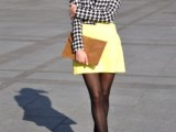 17 Perfect Office Looks In Lemon Shades14