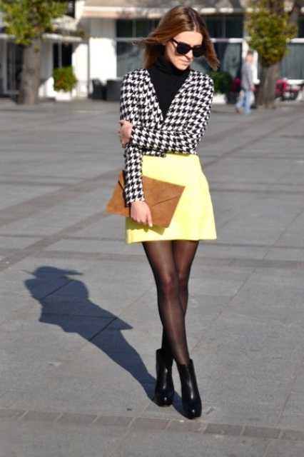 Bright Office Looks In Yellow Shades