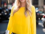 17 Perfect Office Looks In Lemon Shades5