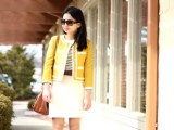 17 Perfect Office Looks In Lemon Shades8
