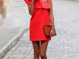 17 Sexy One Shoulder Dresses For This Summer7