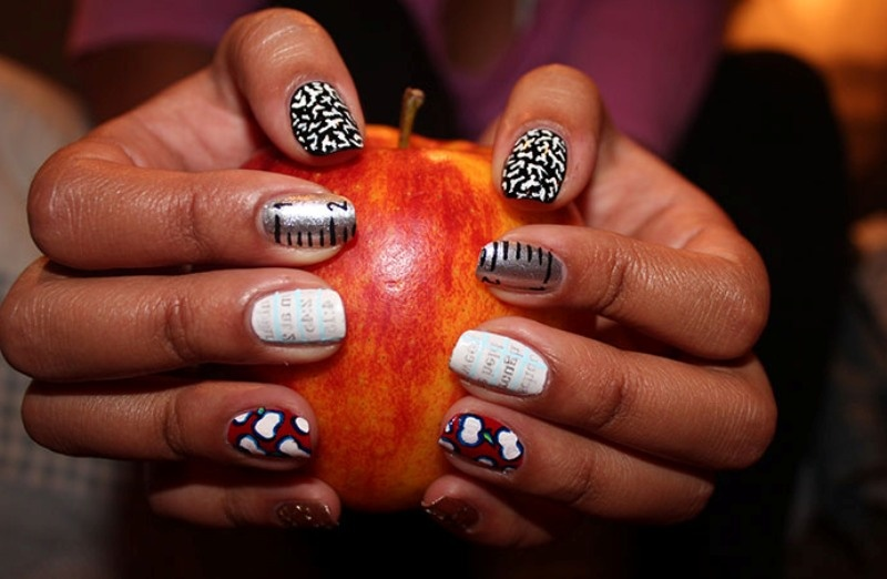 Picture Of back to school nail art ideas to cheer you up  10
