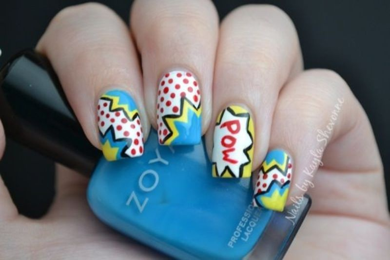 Picture Of back to school nail art ideas to cheer you up  14