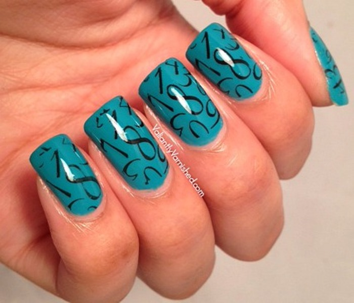 Picture Of back to school nail art ideas to cheer you up  4