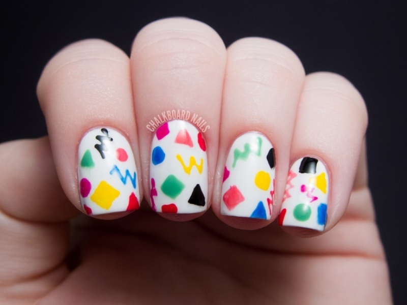 Picture Of Back To School Nail Art Ideas To Cheer You Up 6