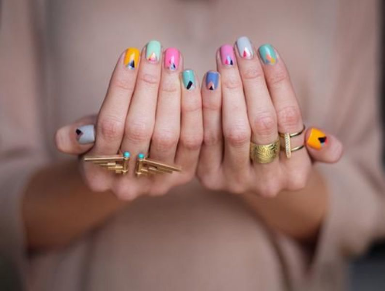 Picture Of back to school nail art ideas to cheer you up 7