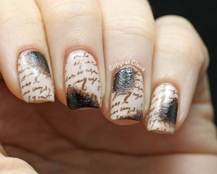 Picture Of back to school nail art ideas to cheer you up 8