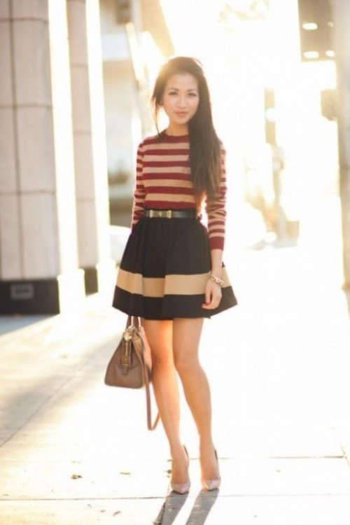 Cool Ways To Rock Stripes On Stripes Trend Now