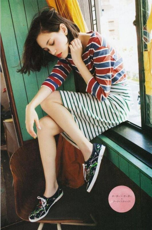 Picture Of cool ways to rock stripes on stripes trend now  13
