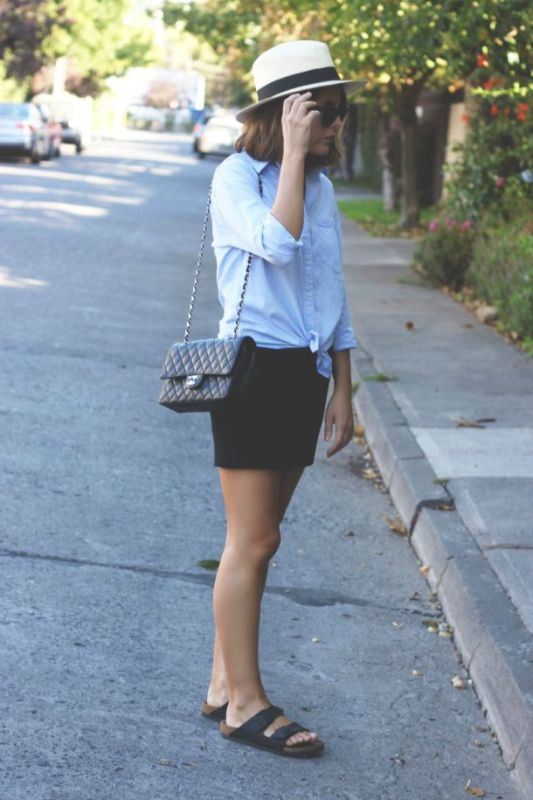 Picture Of really stylish ways to wear birkenstocks this summer  12