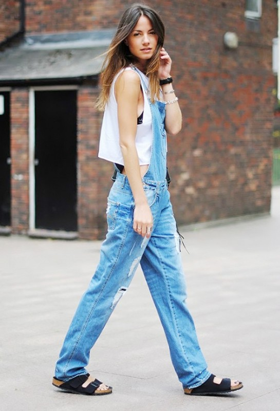Picture Of really stylish ways to wear birkenstocks this summer  2