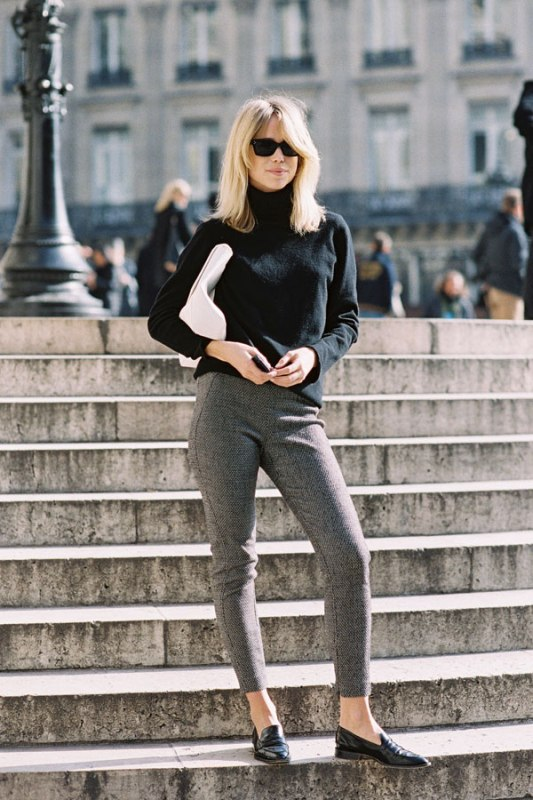 Picture Of ways to make turtleneck look stylish  1