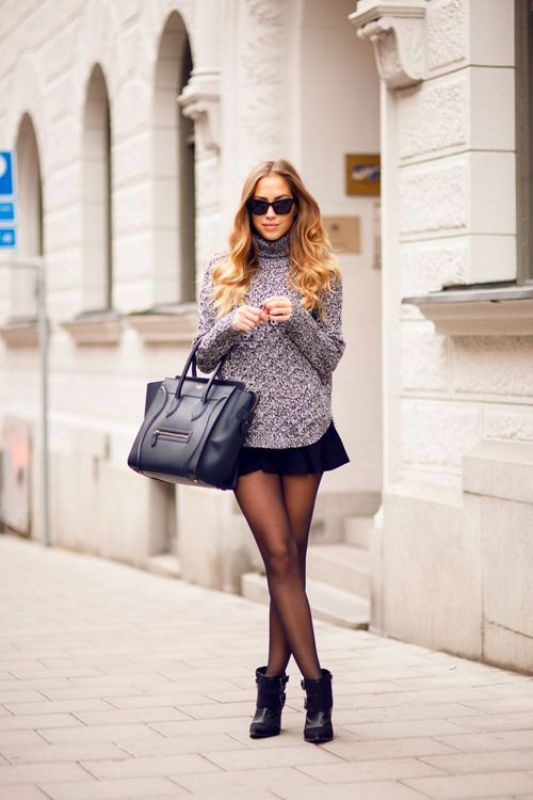 Picture Of ways to make turtleneck look stylish  13